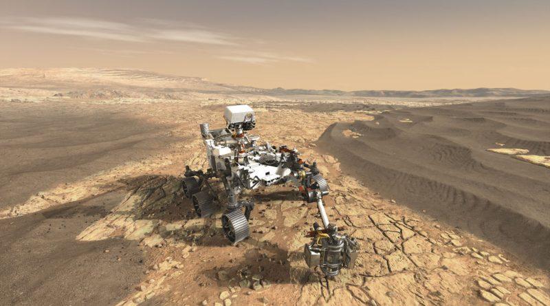 Foto: NASA, odberný mechanizmus Bit Carousel