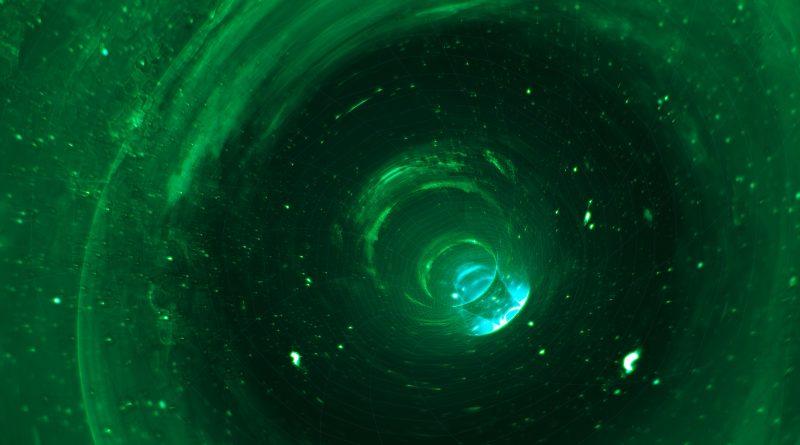 Umělecká představa červí díry. Autor: ESO/L. Calçada.