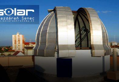 Nepremeškajte letné astronomické prednášky v Senci!