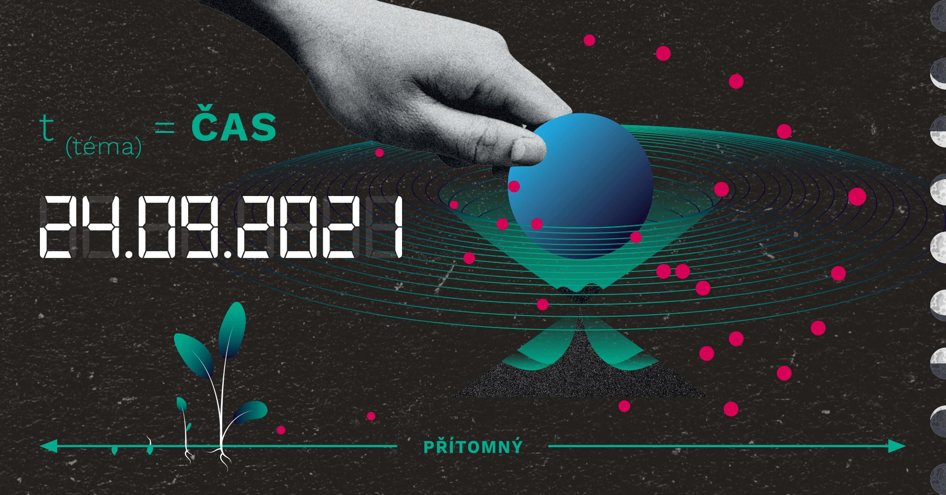"""Téma Noci vědců 2021 je """"čas"""". Zdroj: NocVedcu.cz"""